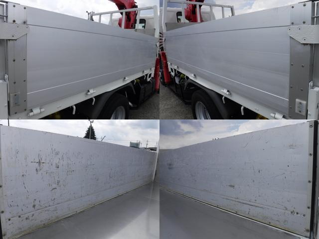 日野 デュトロ 3段クレーン アルミブロック ラジコン・フックイン積載2t