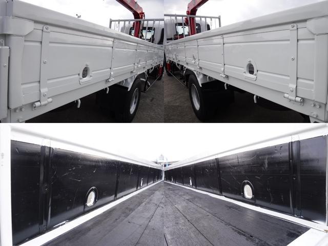 いすゞ フォワード 2.93t吊り4段クレーン ラジコン・フックイン積載2.95