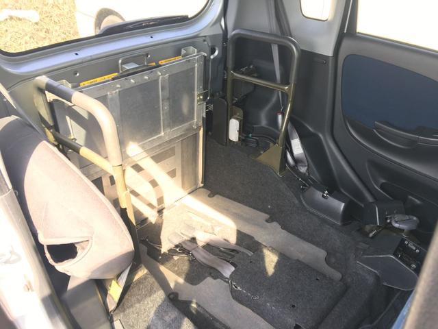 ダイハツ ムーヴ 福祉介護車輌 キーレス CD ベンチシート スロープ
