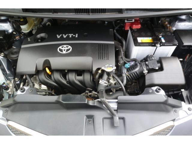 綺麗で良質なエンジン