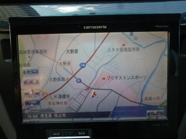 トヨタ マークIIブリット 2.0iRフォーチュナ社外ナビETC