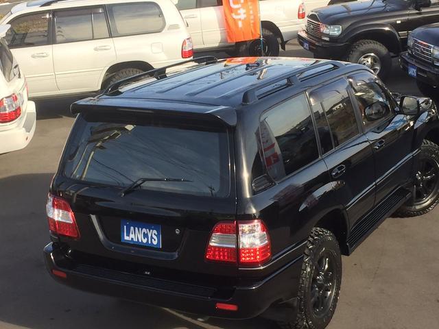 トヨタ ランドクルーザー100 VXLTD・マルチレス2UP・新全塗装ブラック・285MT