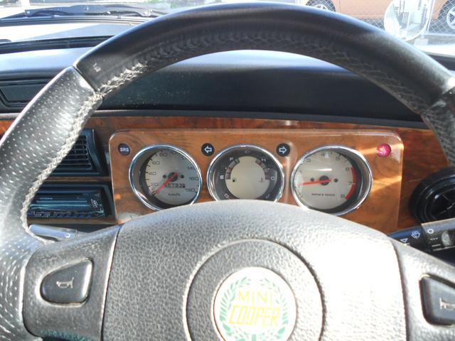 ローバー ローバー MINI ヘリティジ 水色革シート HIDライト