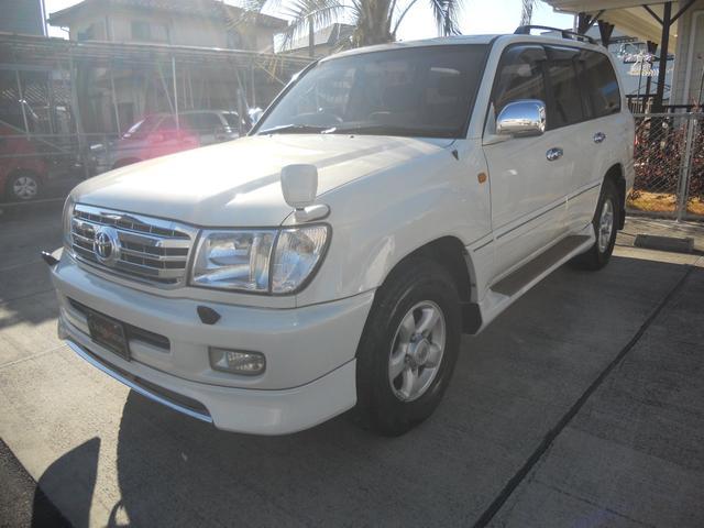 「トヨタ」「ランドクルーザー100」「SUV・クロカン」「栃木県」の中古車7