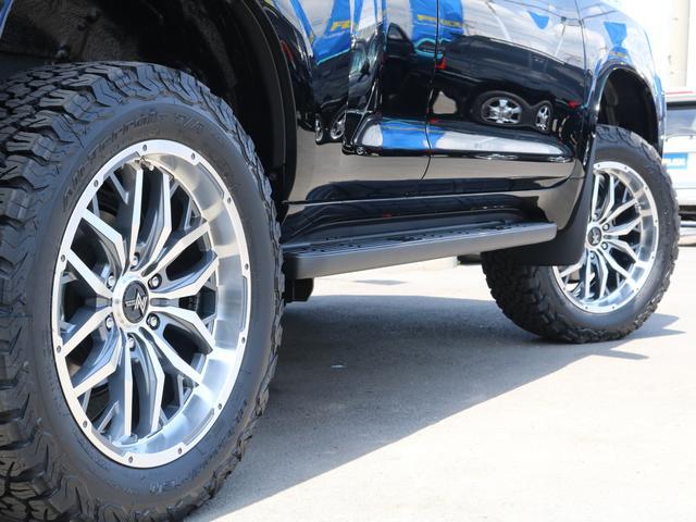 新品NUTRO20インチホイール&新品BFグッドリッチATタイヤを装着致しました!