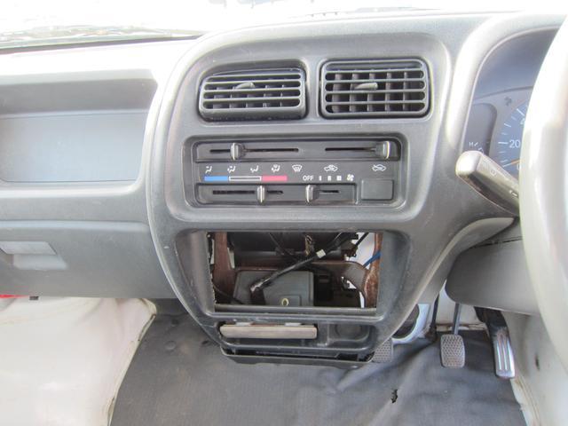 スズキ キャリイトラック 4WD オーディオなし