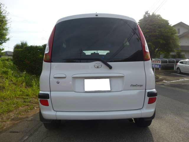 トヨタ ファンカーゴ Xリヤリビングバージョンナビスペシャル HDDナビ アルミ