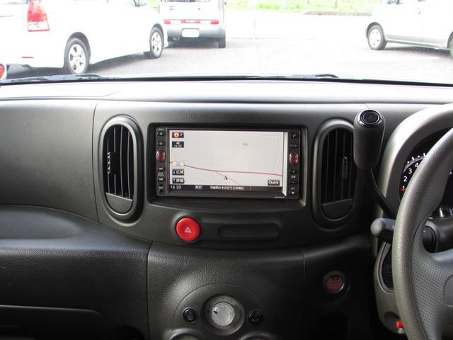 日産 キューブ 15X Mセレクション HDDナビ フルセグ スマートキー