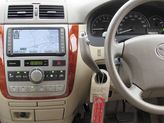 トヨタ イプサム 240i 1オーナー キーレス ナビ ETC HID