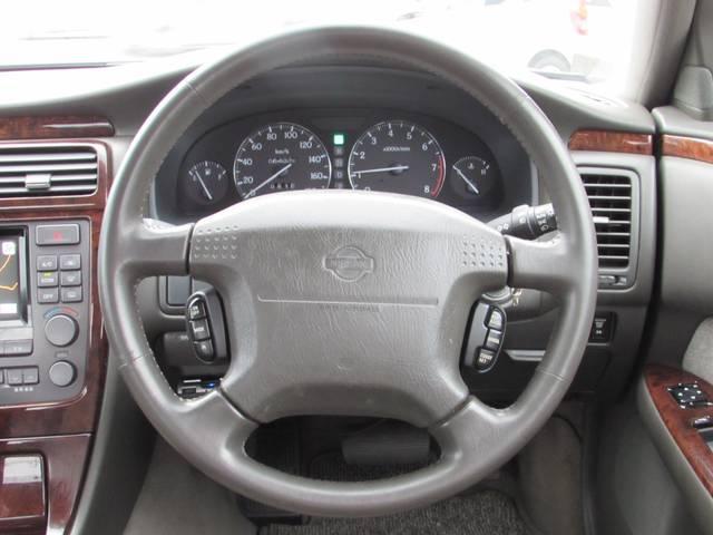 日産 シーマ 30LV キーレス ETC ナビ CD アルミ パワーシート