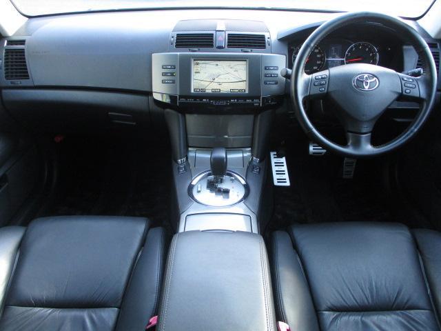 トヨタ マークX 250G Sパッケージ 後期型 HDDナビ 黒革電動シート
