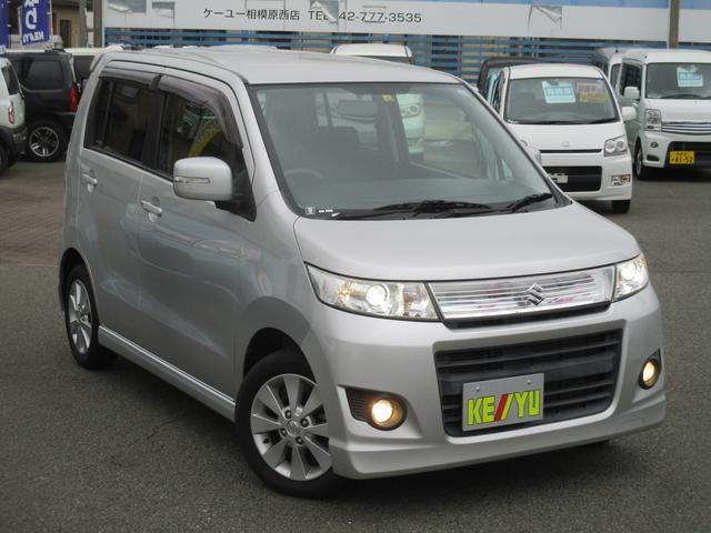 「スズキ」「ワゴンRスティングレー」「コンパクトカー」「栃木県」の中古車3