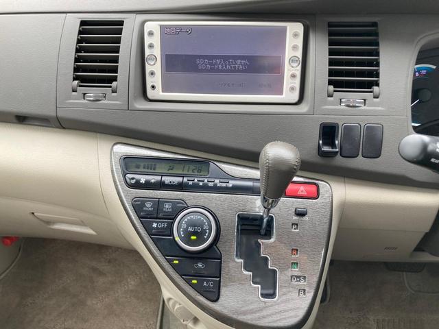 プラタナリミテッド 禁煙 SDナビ 両側電動スライドドア ワンセグTV バックカメラ ETC CD再生 ミュージックプレイヤー接続可能 スマートキー プッシュスタート 純正エアロ HID フォグ オートライト 純正アルミ(19枚目)