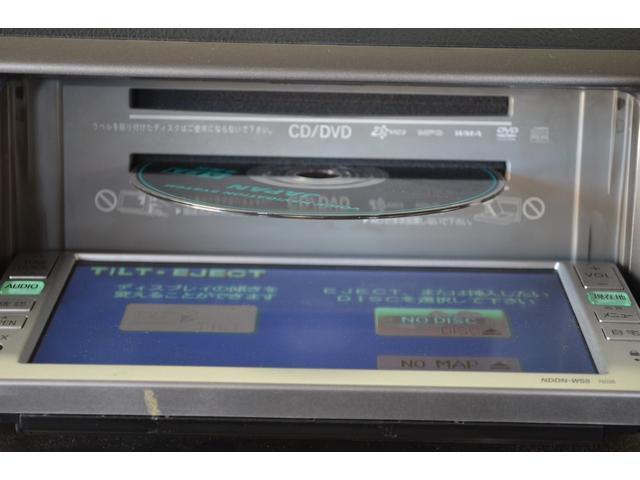 トヨタ純正DVDナビ「NDDN-W58」DVDビデオ、地デジTV、CD、ラジオ、AUX入力など利用できます。