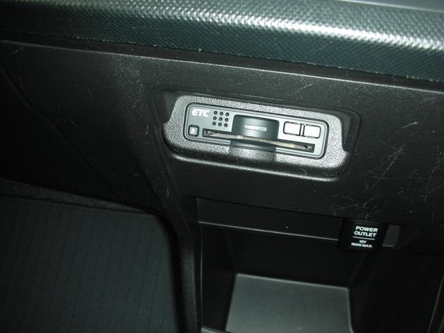 エアコンスイッチしたにETCが装備されてます