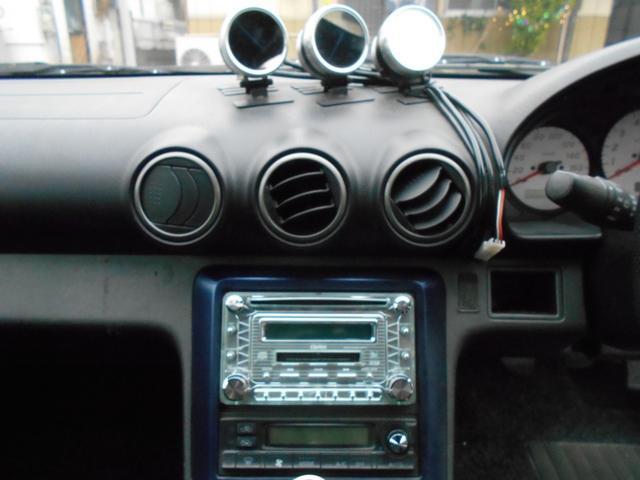 スペックRエアロ 社外マフラー 車高調 レカロシート(10枚目)