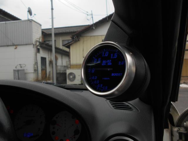 スペックRエアロ 社外マフラー 車高調 レカロシート(15枚目)