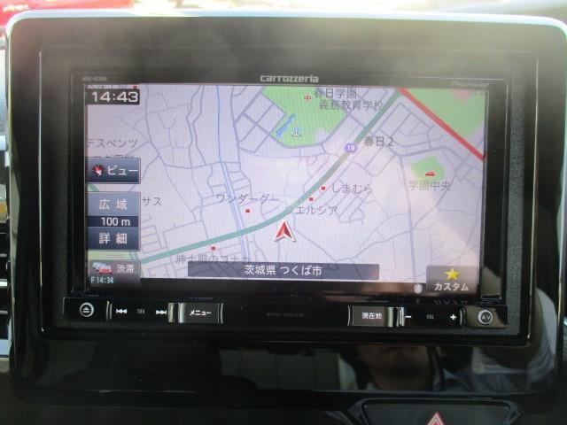 G・EXターボホンダセンシング 社外メモリーナビ 両側Pドア(9枚目)