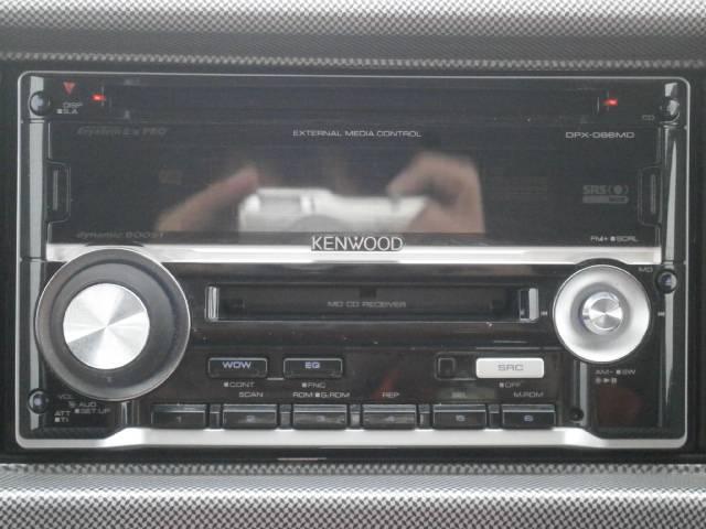 ダイハツ アトレーワゴン カスタムターボRS CD・MDデッキ キーレス