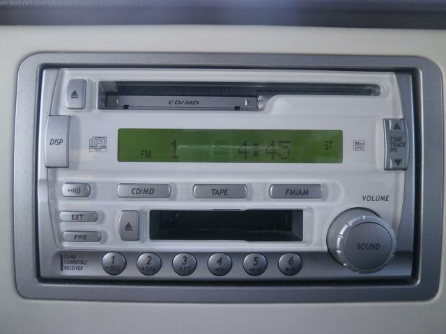 スズキ アルトラパン X ワンオーナー キーレス 純正CD・MDデッキ