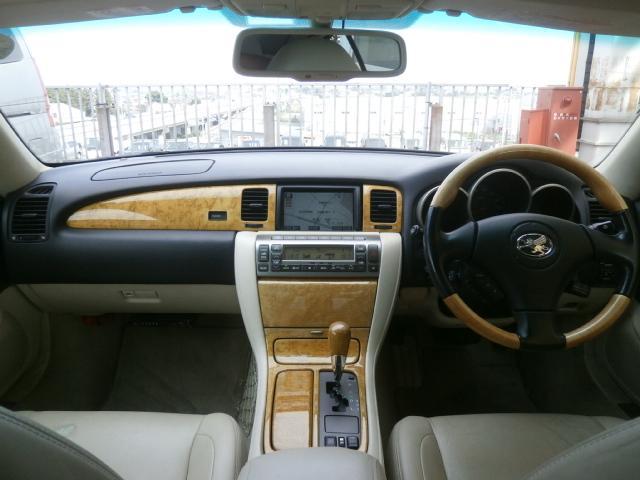 トヨタ ソアラ 430SCV 社外19インチアルミ 純正ナビ