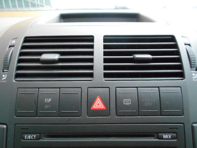 フォルクスワーゲン VW ポロ クロスポロ キーレス 純正CDデッキ HIDヘッドライト