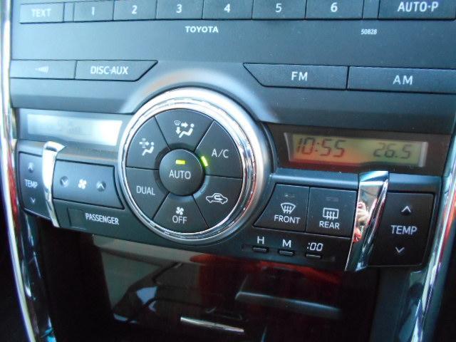 トヨタ マークX ヴェルティガ 250G キーフリー 純正CDデッキ