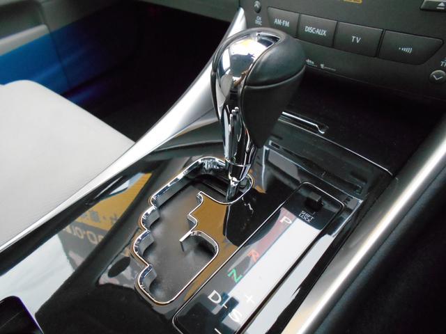 レクサス IS IS250 バージョンT 純正HDDナビ サンルーフ