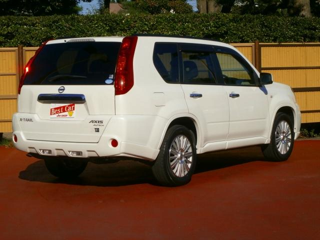 日産 エクストレイル アクシス 4WD インテリキー 専用シート