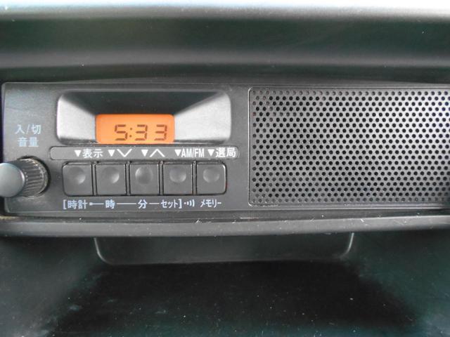 DX ルーフキャリア搭載 純正ラジオデッキ ETC(4枚目)