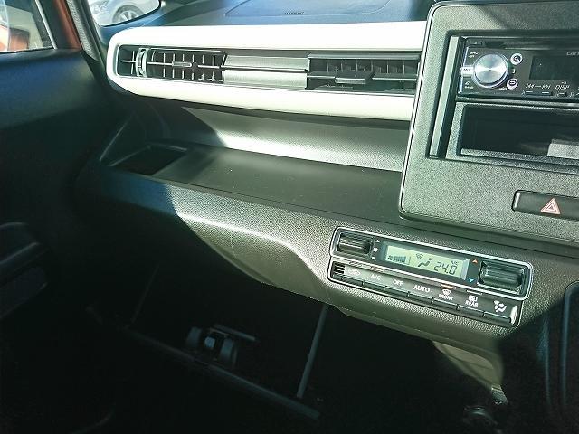 ハイブリッドFX 純正CDデッキ キーレスキー ETC シートヒーター アイドリングストップ ハイブリッド(28枚目)