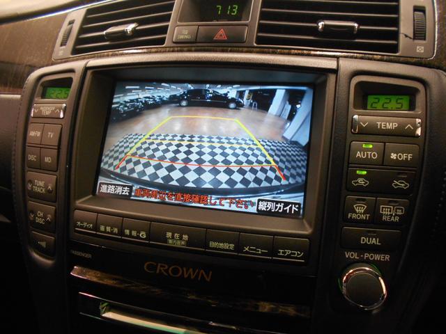 トヨタ クラウン アスリート RAYS20インチ 黒革シート HDDナビ