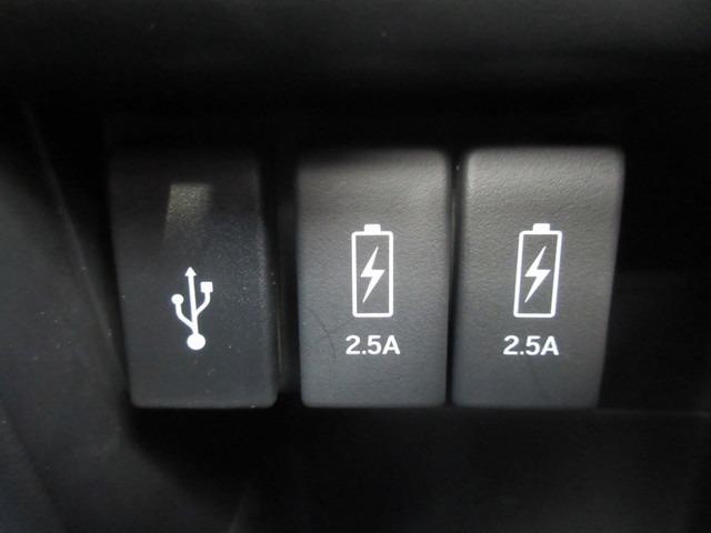 ☆充電用USBジャック(急速充電対応タイプ2個付)装備☆
