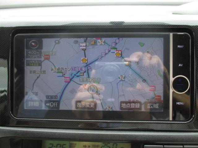 トヨタ ウィッシュ 1.8G 純正HDDナビ