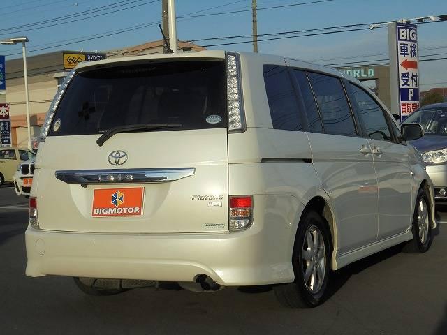 トヨタ アイシス プラタナ/社外SDナビ