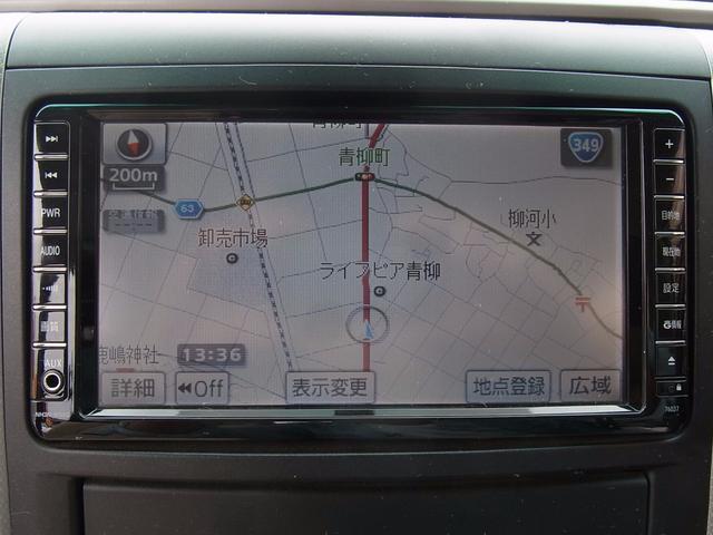 トヨタ アルファード 240S  純正HDDナビ 両側パワースライド