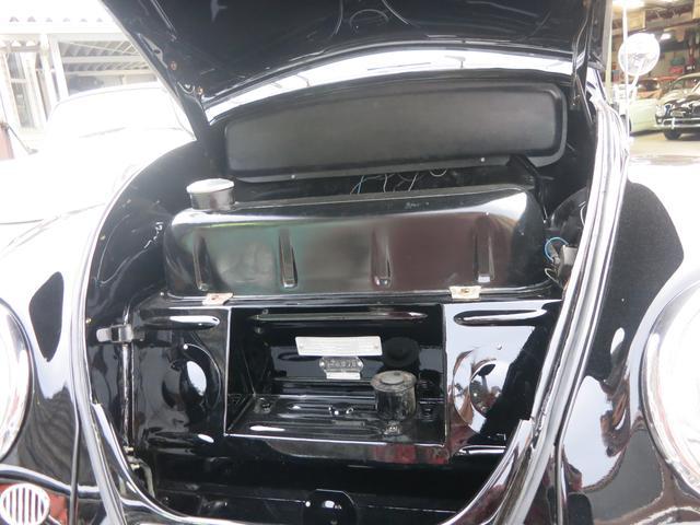 フォルクスワーゲン VW ビートル オーバル スタンドエンジン36hp ラグトップ 12ボルト