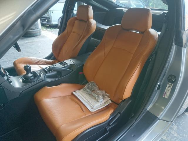 日産 フェアレディZ バージョンST HKS車高調 18AW HDDナビ 革シート