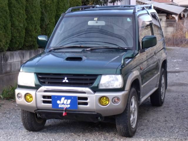 三菱 パジェロミニ V4WDターボ リアスポイラー キーレス付