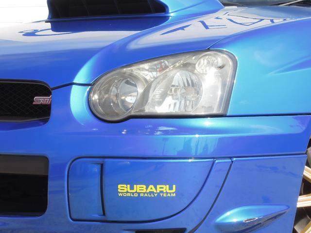 スバル インプレッサ WRX STi 2003 Vリミテッド HID BBS ナビ