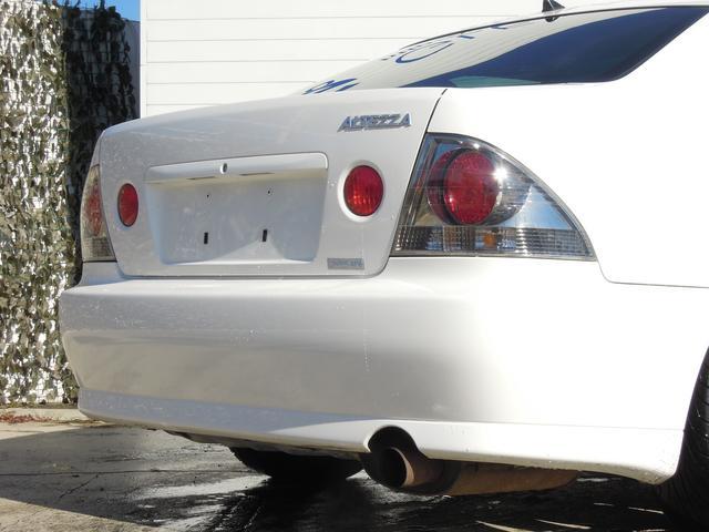 トヨタ アルテッツァ RS200 Zエディション 純正エアロ TEIN車高調 6速