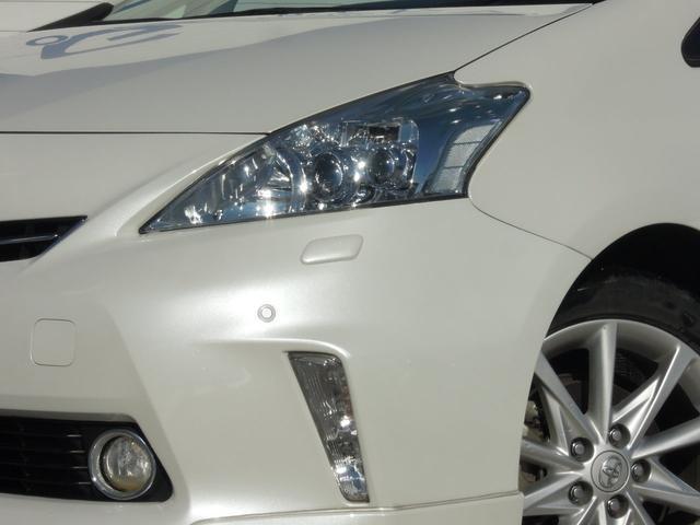 トヨタ プリウスアルファ Sツーリングセレクション 純正ナビTV7人乗LED 1年保証