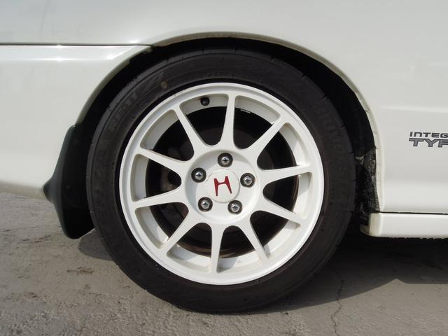 ホンダ インテグラ タイプR 車高調 HID 赤レカロ タイミングベルト交換済み