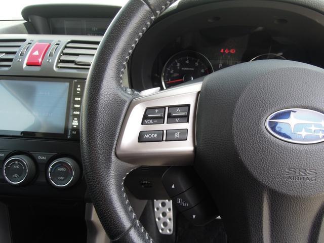 2.0XT アイサイト 4WD SDナビ フルセグTV バックカメラ LEDヘッドライト ETC 黒革シート シートヒーター パワーシート ドラレコ パワーバックドア DVD再生 プッシュスタート スマートキー(31枚目)