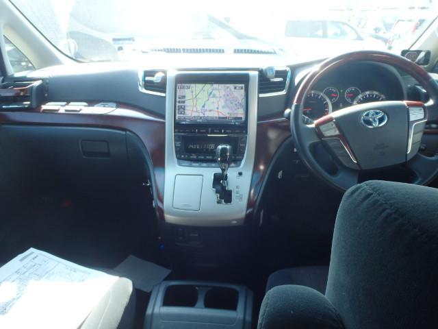 トヨタ ヴェルファイア 2.4Z アルパイン9インチ 社外マフラー 社外足回り