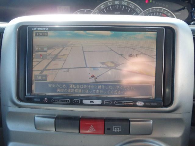 ダイハツ タント カスタムXリミテッド 左PSドア HDDナビ ワンセグ