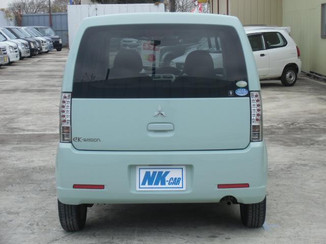 三菱 eKワゴン M 5速MT車 サイドバイザー キーレス プライバシーガラス