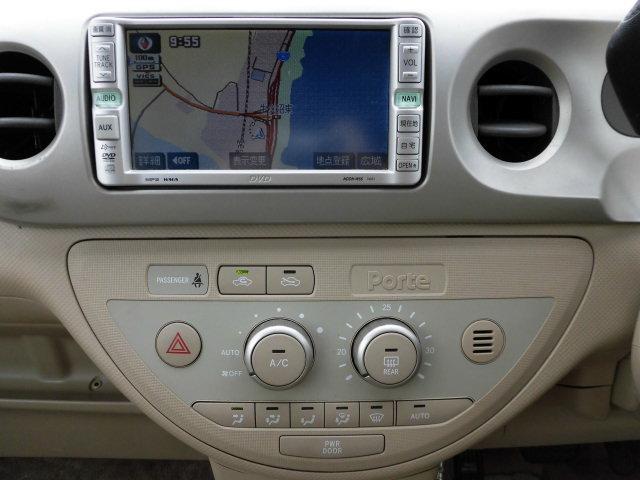 トヨタ ポルテ 150r Tチェーン 左パワスラ DVDナビ ETC HID