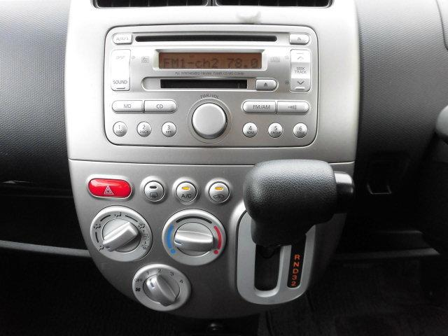 M ETC 社外アルミ キーレス ベンチシート ドアバイザー付 純正CD/MDデッキ(10枚目)