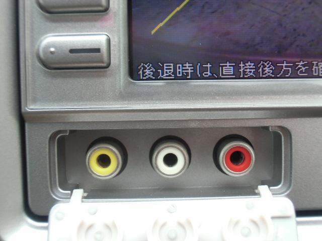 AV入力端子付きです。